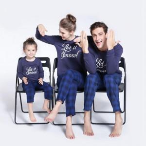 Family Christmas Pajamas Blue.Matching Pajamas